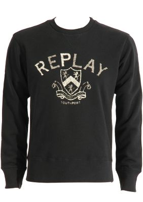 Replay Logo Sweatshirt