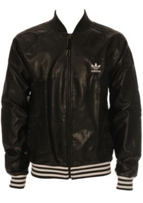 Adidas Leather Bomber