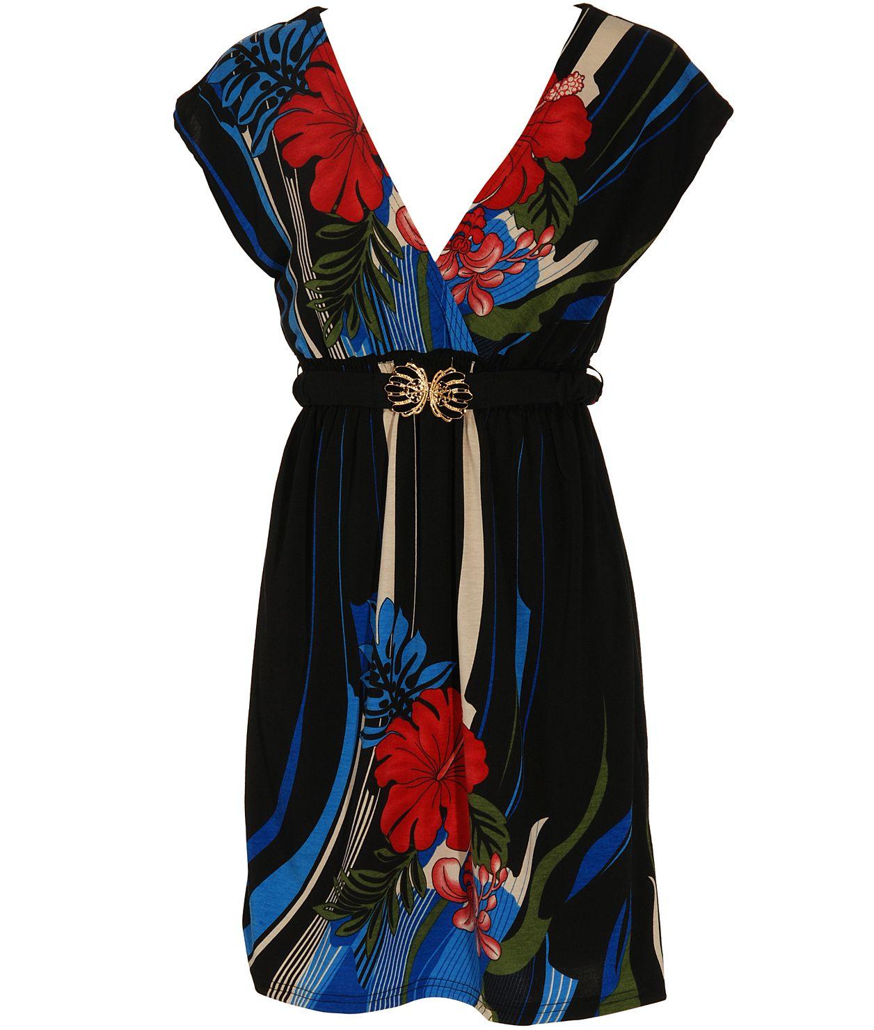Yumi Amyrilis Flower Belt Dress  - USC, UK's No.1 Branded Fashion Retailer