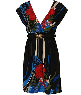 Yumi Amyrilis Flower Belt Dress  - USC, UK's No.1 Branded Fashion Retailer