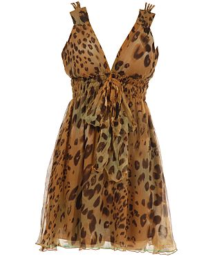 Traffic People Animal Print Dress - USC, UK's No.1 Branded Fashion Retailer