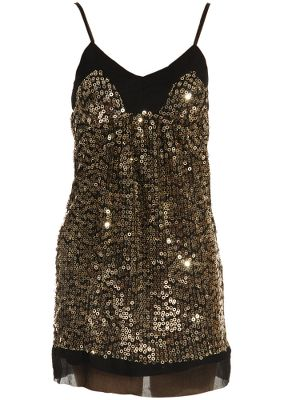 Traffic People Chainmail Shift Dress