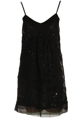 Traffic People Sequin Shift Dress